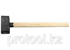 Кувалда, 5000 г, литая головка, деревянная рукоятка// Россия