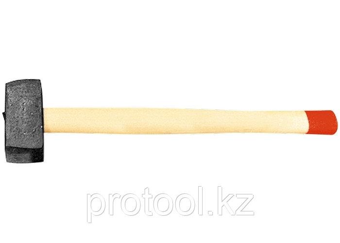 Кувалда, 6000 г, кованая головка, деревянная рукоятка (Павлово) //Россия