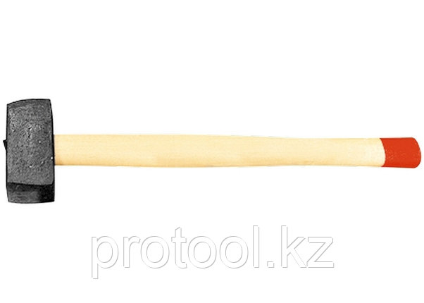 Кувалда, 6000 г, кованая головка, деревянная рукоятка (Павлово) //Россия, фото 2