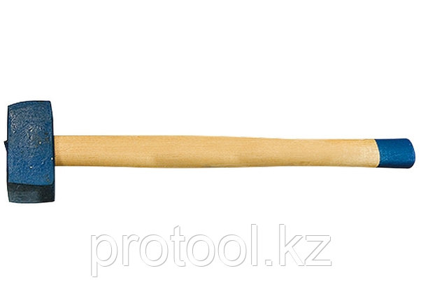 Кувалда, 6000 г, кованая головка, деревянная рукоятка (Труд)// Россия, фото 2