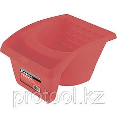 Кювета для кистей и мини-валиков, ударопрочный пластик, 1,2 л, 220х180х120 мм // MATRIX