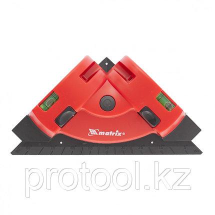 Лазерный уровень, маркер, угольник //MATRIX, фото 2