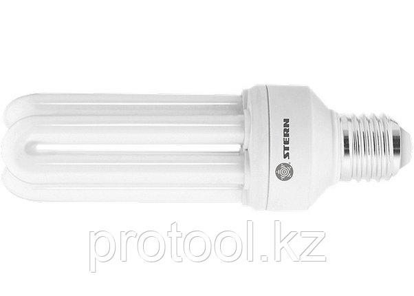 Лампа компактная люминесцентная, U-образная, 20W, 4000K, E27, 8000ч., Stern, фото 2