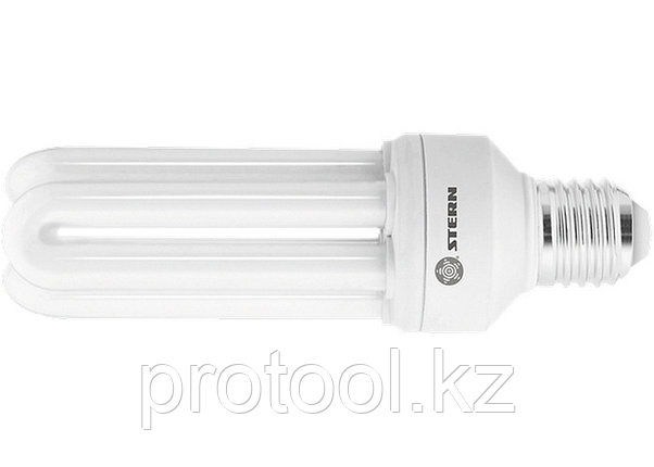 Лампа компактная люминесцентная, U-образная, 26W, 2700K, E27, 8000ч., Stern, фото 2