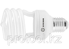 Лампа компактная люминесцентная, полуспиральная, 26W, 2700K, E27, 8000ч., Stern
