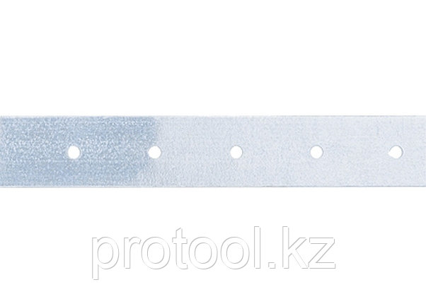 Лента тарная, 0,55 мм, LT 2 см х 25 м, цинк// СИБРТЕХ//Россия, фото 2
