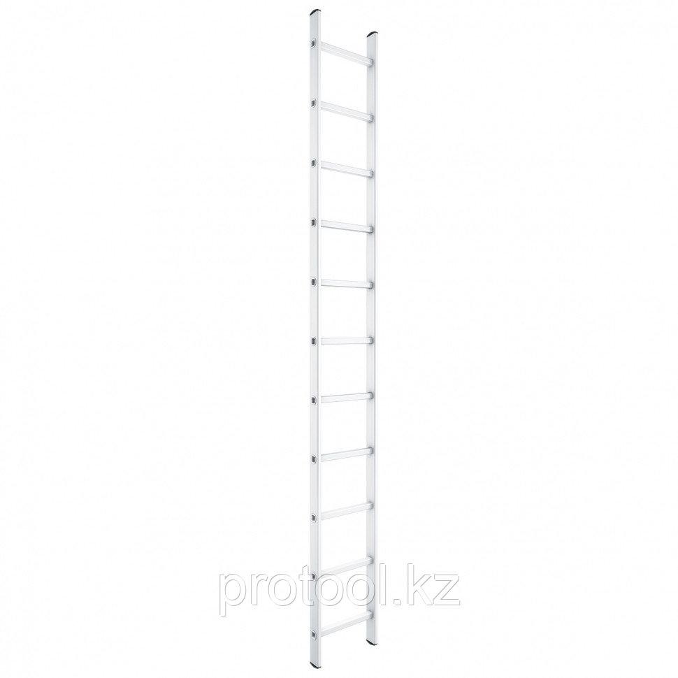 Лестница приставная, 9 ступеней, высота 2,58 м // СИБРТЕХ // Pоссия