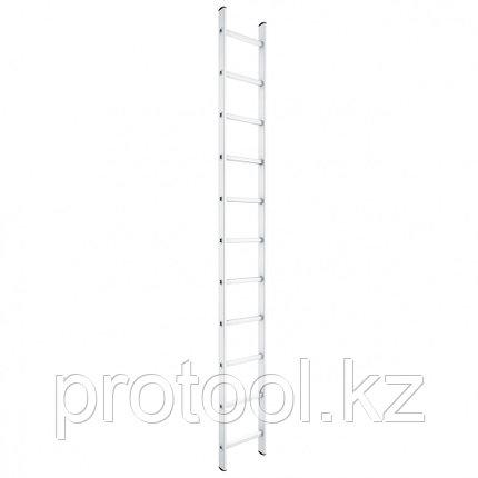 Лестница приставная, 9 ступеней, высота 2,58 м // СИБРТЕХ // Pоссия, фото 2