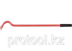 Лом-гвоздодер, 600 мм, арматурный, диаметр 17 мм, резиновая ручка// Россия