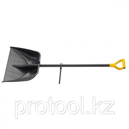 Лопата снеговая PROFI, 560 х 415 мм, длина 1390 мм, алюм. черенок// PALISAD Luxe, фото 2