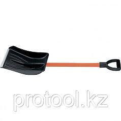Лопата автомобильная, алюмин. черенок, алюмин. окантовка, V-образная пласт. ручка, 890 мм// STELS
