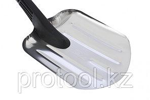 Лопата универсальная алюмин ковш, 205 х 260 мм, черенок из морозостойкого пласт.// STELS, фото 2