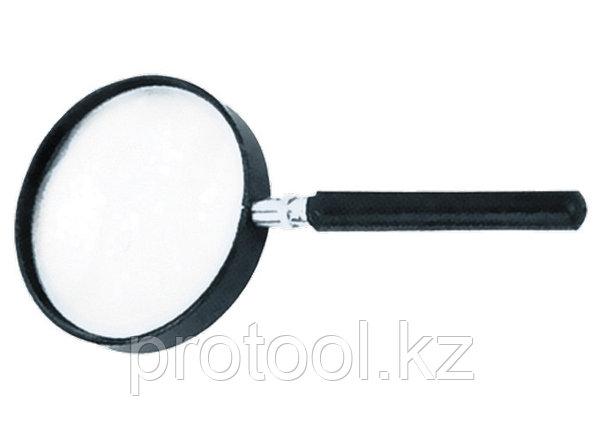 Лупа 3-кратная, D 75 мм, с рукояткой// SPARTA, фото 2