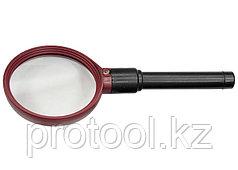 Лупа с подсветкой 3-кратная, D 90 мм// SPARTA