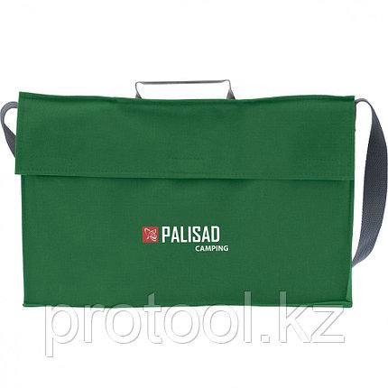 Мангал-дипломат в сумке 410x280x125, 1,5 мм, 6 шампуров в комплекте //PALISAD Camping/Россия, фото 2