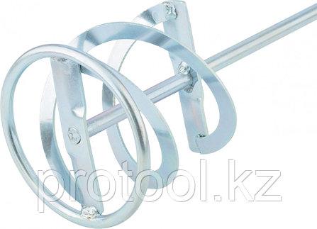 Миксер для красок и штукатурных смесей, 120 х 600 мм, оцинкованный, хвостовик SDS Plus//MATRIX, фото 2
