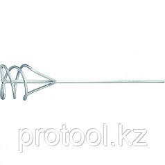 Миксер из оцинкованной стали, D 100 мм, L 450 мм, для песчано-гравийных смесей// СИБРТЕХ
