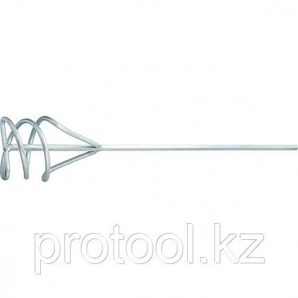 Миксер из оцинкованной стали, D 100 мм, L 450 мм, для песчано-гравийных смесей// СИБРТЕХ, фото 2