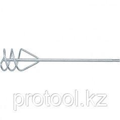 Миксер для песчано-гравийных смесей, 100 х 450 мм, оцинкованный, хвостовик SDS Plus// MATRIX