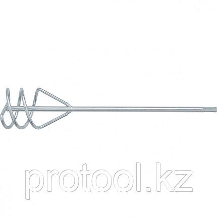 Миксер для песчано-гравийных смесей, 100 х 450 мм, оцинкованный, хвостовик SDS Plus// MATRIX, фото 2