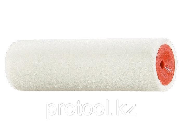 """Мини-валик сменный """"ВЕЛЮР"""", 100 мм, ворс 4 мм, D - 16 мм, D ручки - 6 мм, шерсть// MTX"""