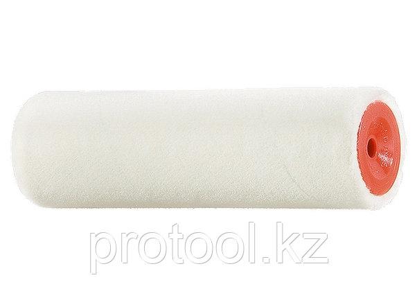 """Мини-валик сменный """"ВЕЛЮР"""", 100 мм, ворс 4 мм, D - 16 мм, D ручки - 6 мм, шерсть// MTX, фото 2"""