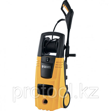 Моечная машина высокого давления HPС-2600, 2600 Вт, 190 бар, 6,5 л/мин, колесная// DENZEL, фото 2
