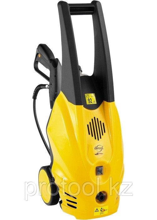 Моечная машина высокого давления HPW-1500, 1500 Вт, 135 бар, 6 л/мин, на колесах// DENZEL