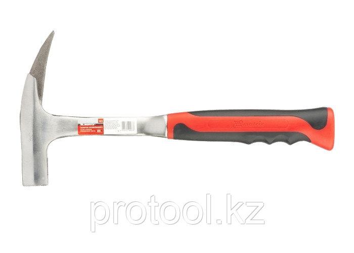 Молоток кровельщика, 600 г, цельнометаллический, двухкомпонентная рукоятка// MATRIX