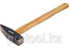 Молоток слесарный, 100 г, квадратный боек, деревянная рукоятка// SPARTA
