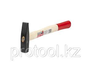Молоток слесарный, 200 г, квадратный боек, деревянная рукоятка// MATRIX, фото 2