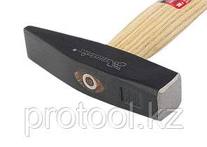 Молоток слесарный, 300 г, квадратный боек, деревянная рукоятка// MATRIX, фото 2