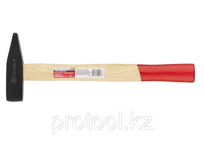 Молоток слесарный, 500 г, квадратный боек, деревянная рукоятка// MATRIX