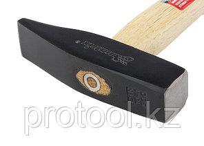 Молоток слесарный, 500 г, квадратный боек, деревянная рукоятка// MATRIX, фото 2