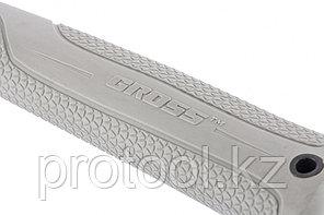 Молоток слесарный, 600 г, квадратный боек, фибергласовая обрезиненная рукоятка// GROSS, фото 2