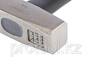 Молоток слесарный, 800 г, квадратный боек, фибергласовая обрезиненная рукоятка// GROSS, фото 2