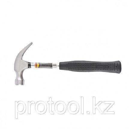 Молоток-гвоздодер, 450 г, боек 27 мм, металлическая трубчатая обрезиненная рукоятка// SPARTA, фото 2