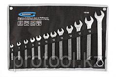 Набор ключей комбинированных 6-22 мм, 12 шт., CrV, холодный штамп // GROSS