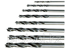 Набор сверл по дереву, 3-4-5-6-7-8-9-10 мм, 8 шт. цилиндрический хвостовик// SPARTA