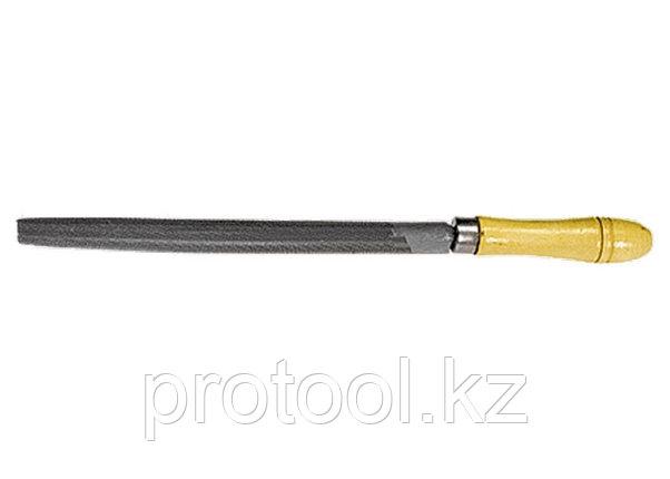 Напильник, 150 мм, полукруглый, деревянная ручка// СИБРТЕХ, фото 2
