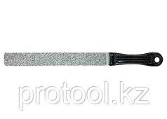 Напильник, 200 мм, плоский, с карбидным напылением// MATRIX