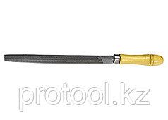 Напильник, 200 мм, полукруглый, деревянная ручка// СИБРТЕХ