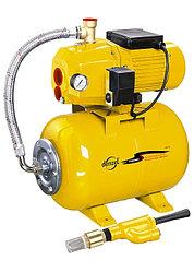 Насосная станция эжекторная PSD800C 800 Вт, 2400 л/ч, ресивер 24 л, всасывание 20 м //Denzel