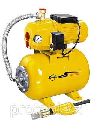 Насосная станция эжекторная PSD800C 800 Вт, 2400 л/ч, ресивер 24 л, всасывание 20 м //Denzel, фото 2