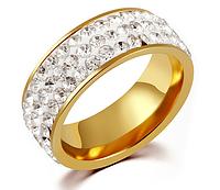 """Кольцо """"Сияние камней"""" Gold, фото 1"""