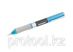 Нож для дизайна,выдвиж перовое лезвие,двухкомп .рук-ка,мет клипса для фиксации,150мм + 2 з.л// GROSS