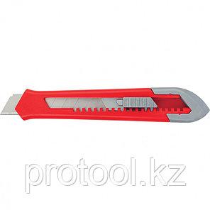 Нож, 18 мм, выдвижное лезвие, корпус ABS-пластик//MATRIX, фото 2