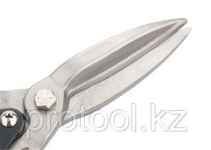 """Ножницы по металлу """"PIRANHA"""",270мм,прямой проходной рез,сталь-СrMo,двухкомп.рук-ки //GROSS, фото 2"""