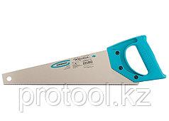 """Ножовка для работы с ламинатом """"PIRANHA"""",360 мм,15-16 TPI,зуб-2D,каленый зуб,пласт.рук-ка// GROSS"""