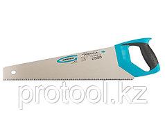 "Ножовка по дереву ""PIRANHA"", 450 мм, 7-8 TPI, зуб - 3D, каленый зуб, 2-х комп. рук-ка// GROSS"